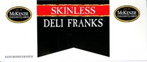 Mckenzie Skinless Franks
