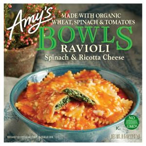 Amy's Spinach And Ricotta Ravioli Bowl