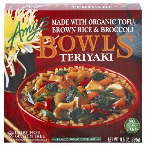Amy's Gluten Free Teriyaki Bowl