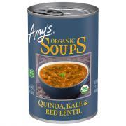 Amy's Organic Quinoa, Kale & Lentil Soup