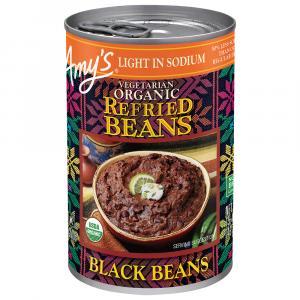 Amy's Organic Light in Sodium Refried Black Beans