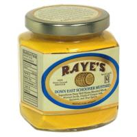 Raye's Down East Schooner Classic American Yellow Mustard