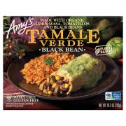 Amy's Black Bean Tamale Verde