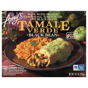 Amy's Black Bean Tamale Verde