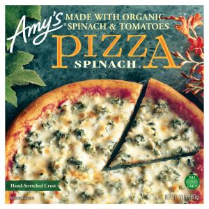 Amy's Spinach Feta Pizza