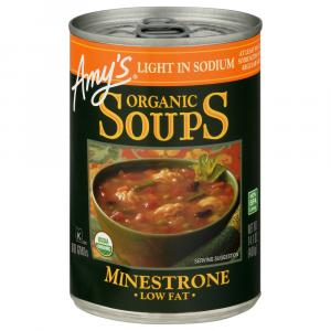 Amy's Organic Light in Sodium Minestrone Soup