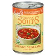 Amy's Organic Low Sodium Chunky Vegetable Soup