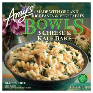 Amy's Bowls Three Cheese and Kale Bake