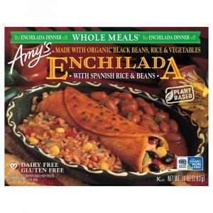 Amy's Gluten Free Black Bean Enchilada Meal