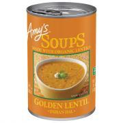 Amy's Golden Lentil Soup