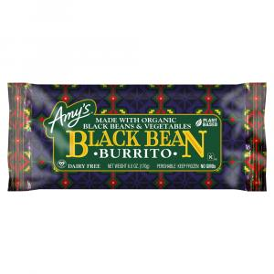 Amy's Black Bean Veggie Burrito