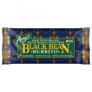 Amy's Black Bean Veggie Burrito