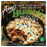 Amy's Gluten Free Mexican Casserole Bowl
