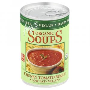 Amy's Vegan Chunky Tomato Bisque Soup