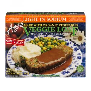 Amy's Low Sodium Veggie Loaf Meal