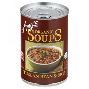 Amy's Organic Tuscan Bean & Rice Soup