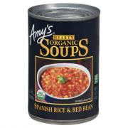 Amy's Organic Spanish Rice & Red Bean Soup