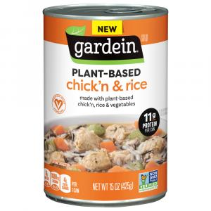 Gardein Plant-Based Chick'n & Rice Soup