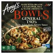 Amy's Bowls General Tso's in an Asian-Style Savory Sauce