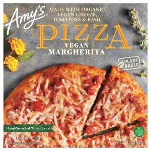 Amy's Vegan Margherita Pizza