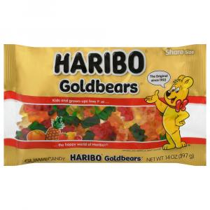 Haribo Gold Bear Gummi Laydown Bag