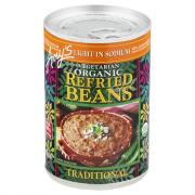 Amy's Light Sodium Vegetarian Organic Refried Beans