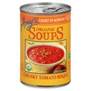 Amy's Organic Light in Sodium Chunky Tomato Bisque