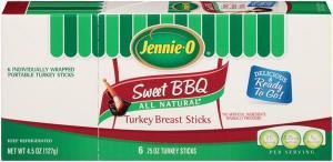Jennie-o Sweet Bbq Turkey Breast Sticks