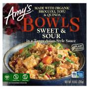 Amy's Bowls Sweet & Sour in a Szechuan-Style Sauce