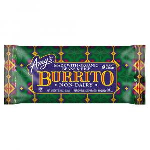 Amy's Bean & Rice Burrito