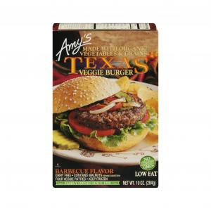 Amy's Texas Barbecue Veggie Burger