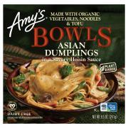 Amy's Bowls Asian Dumplings in a Savory Hoisin Sauce