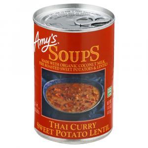 Amy's Thai Curry Sweet Potato & Lentil Soup