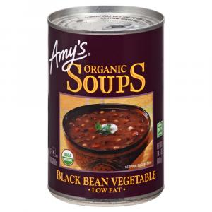 Amy's Organic Black Bean Vegetable Soup