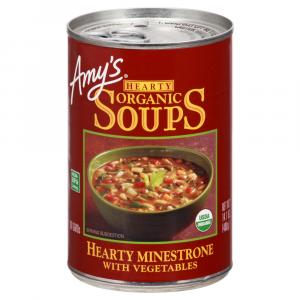 Amy's Hearty Organic Minestrone with Vegetables
