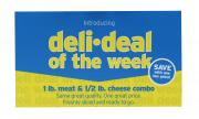 Deli Deal All Natural Turkey & Great Lakes Swiss Cheese