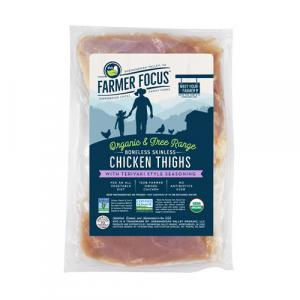 Farmer Focus Organic Teriyaki Chicken Thighs