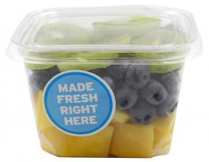 Mango, Blueberry And Kiwi Cup