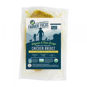 Farmer Focus Organic Lemon Pepper Chicken Breast