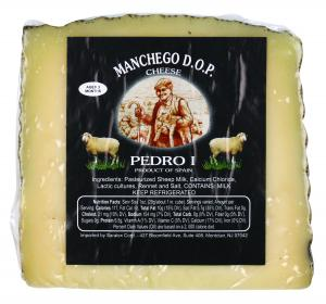 Imported Manchego Wedge Cheese