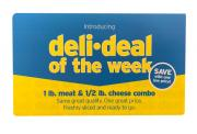 Deli Deal Krakus Ham & Hannaford White American Cheese