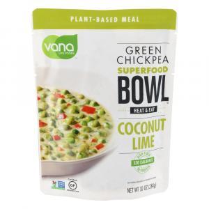 Vana Life Foods Green Chickpeas, Coconut, Lime, Cilantro