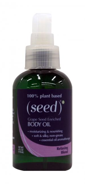 Seed 100% Natural Grape Seed Enriched Body Oil Relaxing Blnd