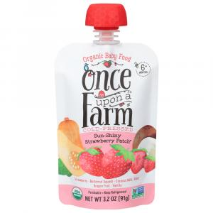 Once Upon A Farm Organic Sun-Shiny Strawberry Patch