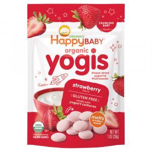 Happy Baby Organic Strawberry Yogurt Snacks