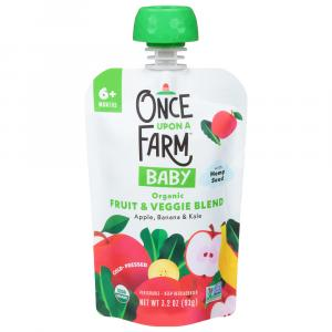 Once Upon A Farm Organic Green Kale & Apples