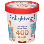 Enlightened Marshmallow Peanut Butter Ice Cream