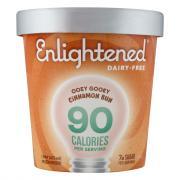Enlightened Ooey Gooey Cinnamon Bun Dairy-Free