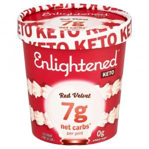 Enlightened Keto Collection Red Velvet Ice Cream