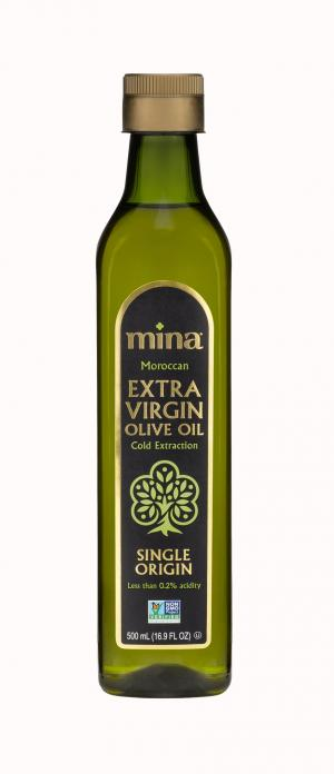 Mina Moroccan Extra Virgin Olive Oil Cold Extraction